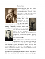 Gustav Holst (PDF)