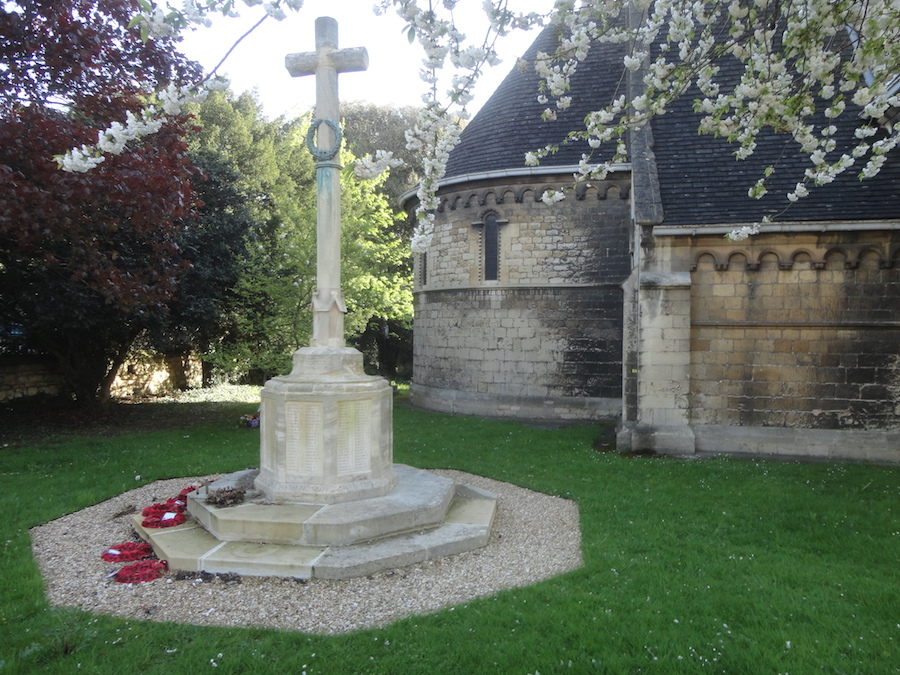 St Peter's church war memorial
