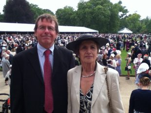 Holst Volunteers attend Palace Garden Party