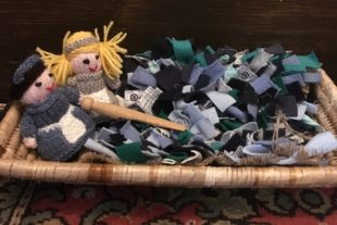 create your own rag rug