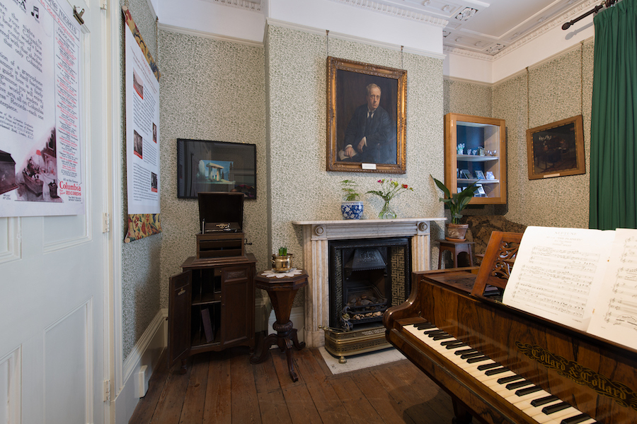 Music Room at the Holst Birthplace Museum