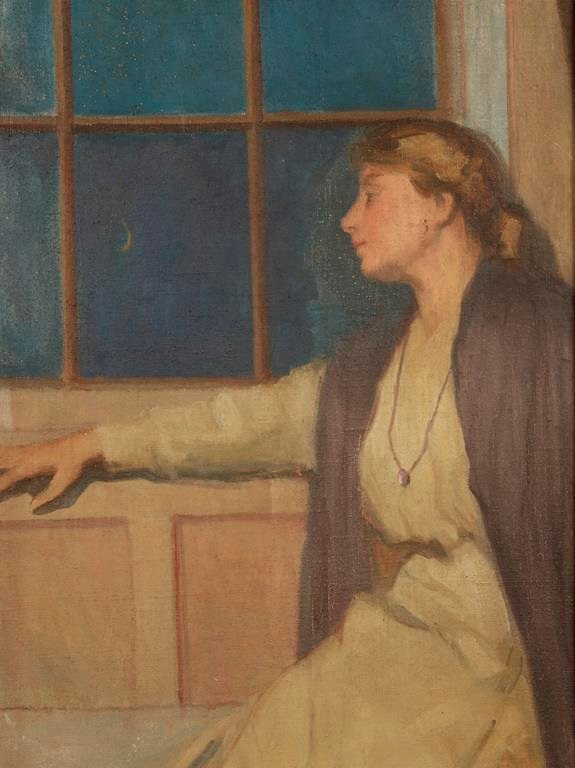 Isobel Holst by Millicent Woodforde