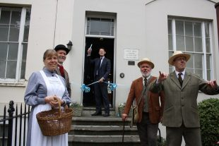 Alex Chalk MP reopens the Museum
